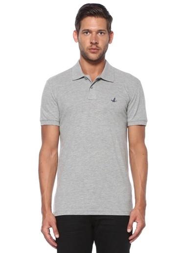 Beymen Club Beymen Club Slim Fit  Polo Yaka T-shirt 101516717 Gri